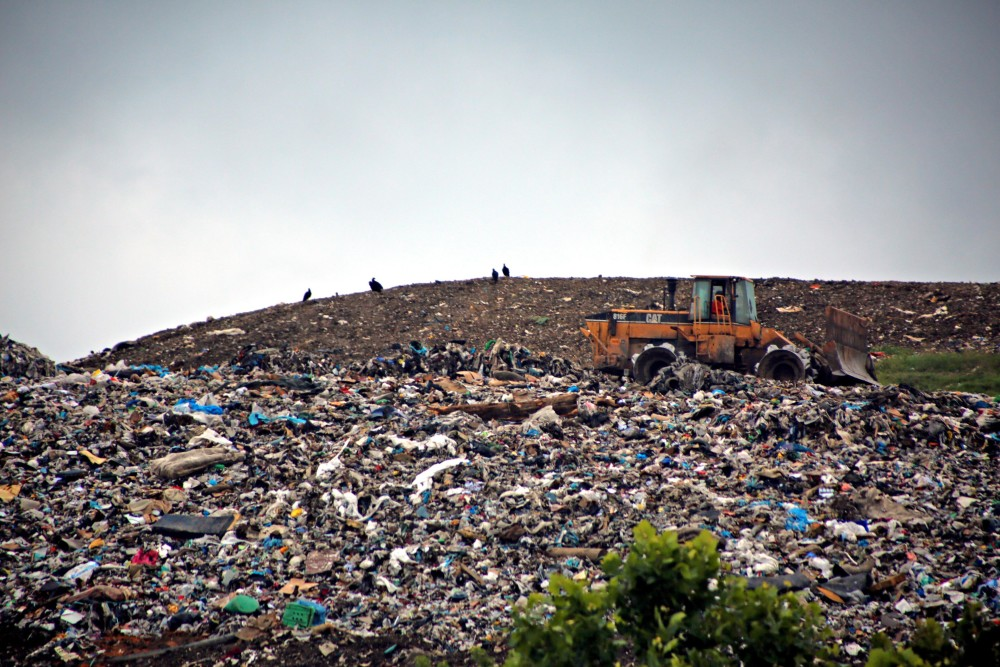landfill incomplete decompostion and settling Solid waste management and/or transfer station waste transformation facility landfill figure 5-2 implementation of iwm for followed by settling.